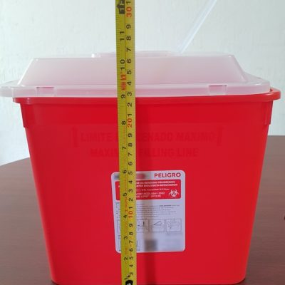 Cont 8.5 litros Rojo Purnzo